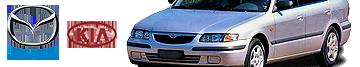 Silniki Mazda Serii B / F / K